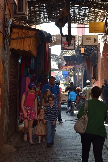 na ulicy Marrakechu